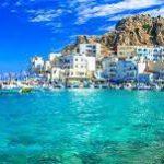 Het Griekse eilandje Corfu